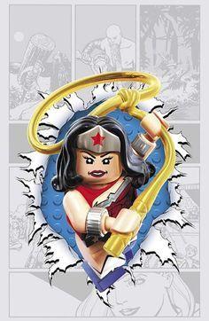 DC Comics Theme Month LEGO Variant Covers (November 2014)   DC Comics