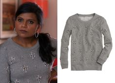 Today has brought good things (two month hiatus excluded) and Mindy's chandelier beaded sweatshirt is back in stock in various sizes i...