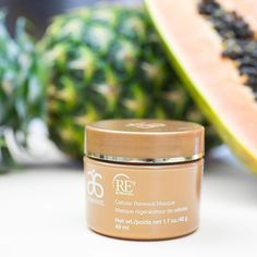 Experience renewed appreciation for your skin. This mask gently exfoliates with pineapple and papaya enzymes, leaving you with perfectly glowing skin. #Arbonne