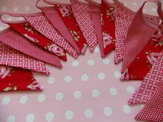 more bunting banners..