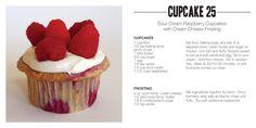 Raspberries cupcakes!