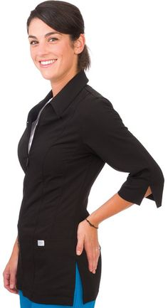 Home of PRO Scrubs. Canada's best value in Scrubs, Lab Coats, and other medical related uniforms. ( accuwear scrubs ) ( xs- white or black i think) Lab Jackets, Dental Scrubs, Lab Coats, Office Attire, Dresses For Work, Zip, My Style, How To Wear, Clothes