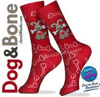 Dog & Bone Socks.