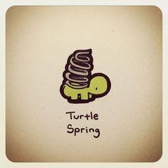 Cute Turtle Drawings, Turtle Sketch, Animal Drawings, Cute Turtles, Baby Turtles, Sea Turtles, Tiny Turtle, Turtle Love, Kawaii Drawings