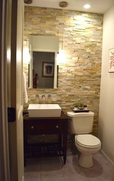 See a DIY Powder Room Transformation for $1,100