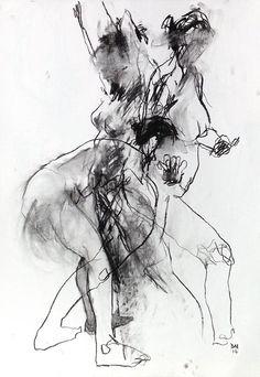 Abstract Transition. Original A1 Willow by DavidHewittArtist #art #artist…