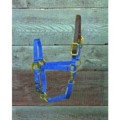 Adjustable Halter with Head Pole & Snap for Ponies - Blue - Part #: 3DLAS POBL by Hamilton Halter Company. $26.82. CHINA. BlueHorse Halters And Nylon LeadsFor ponies.3/4 deluxe nylon halter with leather head poll breakaway with throat snap.Only the highest quality durable nylon webbing, thread and hardware is used to produce the hamilton product line.Adj halter w/lthr hdpl & snap.All items are brand new, never worn and never used. We guarantee the authenticity of all items.