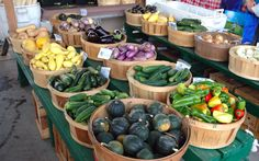 5 Veggies to Look For at the Farmers Market in Early Fall. Vegan recipes listed on web page!