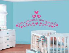 Mejores 82 imágenes de vinilos infantiles en Pinterest   Girl rooms ...