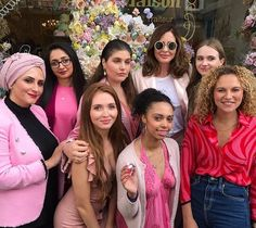 It's FASHION FRIDAY and we're dedicating this week to our brand new LIP GLOW in MIA, think of pretty peonies, cherry blossoms and bubblegum pink 🌸💗🎀 Featuring Trinny @trinnywoodall, Chloe @chloedallolio, Lulu @lulu.inlondon, Nicole @nicoleomahonyx, Neesha @neeshasharma, Dido @didojaness, Shannon @shanohara_ and the wonderful Yvonne @yvonne_osman from @fait_maison_london, thank you so much for an amazing lunch and of course for the stunning venue 💖👛 follow the link in our bio to go to… Bubblegum Pink, Cherry Blossoms, Bubble Gum, Peonies, All Things, Chloe, Friday, Lips, Lunch