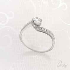 Il #diamante è da sempre la pietra più ambita e desiderata dalle donne. Esprimi il tuo desiderio con i solitari #Orsini
