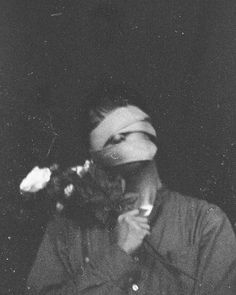 flowers dark bandage head hand girl alone edit lover broken grunge edit close closeyes closeeyes eyes noeyes eye face hurt think Dark Photography, Black And White Photography, Portrait Photography, Aesthetic Photo, Aesthetic Pictures, Photo Lovers, Black And White Aesthetic, Poses References, Oeuvre D'art