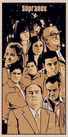"The Sopranos. ""You're only as good as your last envelope."""