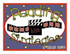 A perfect addition to any Hollywood/Movie-Themed classroom. Use these 7 Reading Strategy posters to display on a reading bulletin board in your cla...