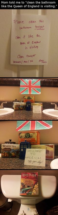 Haha, oh my gosh that's awesome...I would die laughing if I had a kid that did this. The best part is the TARDIS