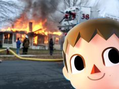 The internet's funniest reactions to the Villager joining Smash Bros, including memes, image macros, artwork, and comics! Super Smash Bros Brawl, Bro Game, Nintendo Characters, Funny Games, It's Funny, Smosh, Game Character, Animal Crossing, Nerdy