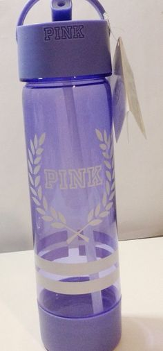 PINK campus water bottle in lavanda, I liked the secret compartment on the bottom
