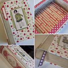 How to make a treasure box out of an old book