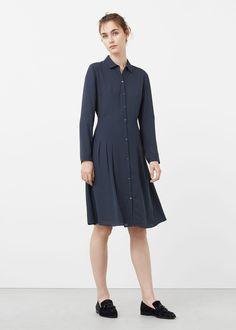 Shirt dress -  Woman | MANGO Qatar