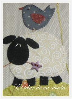 Bird Applique, Applique Pillows, Wool Applique Patterns, Applique Templates, Applique Designs, Mini Quilts, Baby Quilts, Pach Aplique, Colchas Quilt