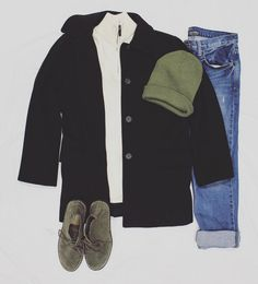 During the winter layer is super important! Wear a sweater under a peacoat for the ultimate comfortable & stylish look! #freestylefind #mensfashion #style #ootd #fashion #winter