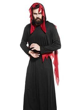 Devil Robe Halloween Scream Childs Demon Horror Fancy Dress Scary Costume