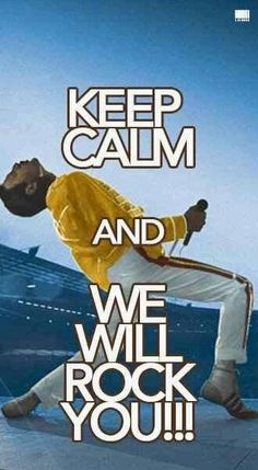 Keep Calm Posters, Keep Calm Quotes, Cant Keep Calm, Keep Calm And Love, Keep Calm Signs, Queen Art, We Will Rock You, Queen Freddie Mercury, Joy Of Life