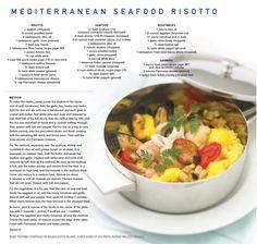 Celebrity Cruises - Mediterranean Seafood Risotto recipe