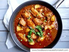 Durban Chicken Curry Recipe - Food like Amma used to make it