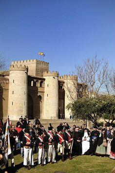 Zaragoza.Conmemoración de la Capitulación de Zaragoza by César Angel. Zaragoza, via Flickr