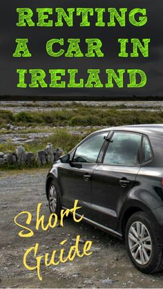 A Short Guide to Renting A Car in Ireland. Renting a car in Ireland allowed us to get off the basic tourist path and make our own divergent path in Ireland. We got to explore all of the different sides that Ireland has to offer on our own timeline. We exp Bus Travel, Roadtrip, Travel Tips, Asia Travel, Travel Plan, Budget Travel, Oh The Places You'll Go, Places To Travel, Soundtrack
