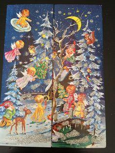 Image result for vintage angel advent calendars