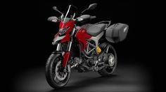 Ducati Hyperstrada model in 2013 and is operated by engine type of 11 °, L-Twin cylinder, 4 valve per cylinder, Desmodromic, liquid cooled with displacement of 821.1cc. Motorcycles has Electronic fuel injection system. Throttle bodies with full Ride by Wire system and 6 speed ......