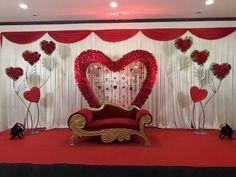 Wedding Backdrop Design, Desi Wedding Decor, Wedding Stage Design, Wedding Stage Decorations, Backdrop Decorations, Marriage Hall Decoration, Engagement Stage Decoration, Reception Stage Decor, Indian Wedding Stage
