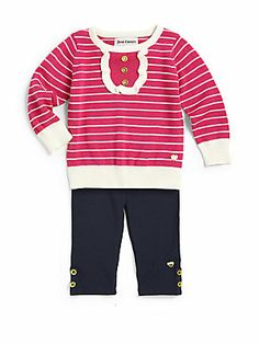 Juicy Couture Infant's Two-Piece Sweater & Leggings Set