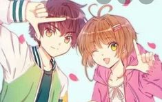 Anime Chibi, Kawaii Anime, Manga Anime, Film Manga, Cardcaptor Sakura, Sakura Kinomoto, Syaoran, Sakura Sakura, Manga Romance
