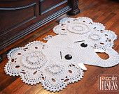 Crochet Pattern PDF for making a beautiful Elephant Animal Rug or Nursery Mat with Big Lace Ears.make circles in ears a different color Elephant Rug Crochet, Elephant Blanket, Elephant Nursery, Elephant Zoo, Nursery Rugs, Elephant Pattern, Bag Crochet, Crochet Hooks, Crochet Baby