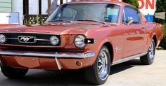 Nicely Restored 1966 Ford Mustang in Emberglo