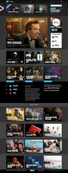 Lift Magazine #grid design layout web