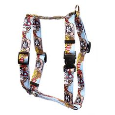 Yellow Dog Design Pirate Booty Roman Style H Dog Harness Large1 Wide and fits Chest of 20 to 28 ** You can get additional details at the image link.Note:It is affiliate link to Amazon.