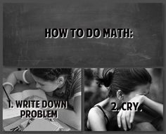 How To Do Math.... And physics