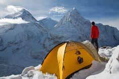 A look at Pumori, Everest, Lhotse, Nuptse