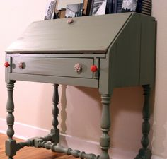 How To: Paint an Antique Desk Lindsay's February Jumpstart Project 2009