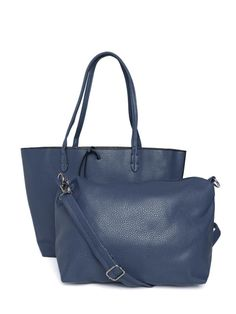 775da7ed96 Buy Lisa Haydon For Lino Perros Navy Shoulder Bag With Sling Bag - Handbags  for Women