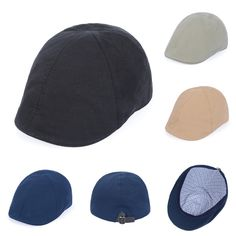 Find More Newsboy Caps Information about Canvas Classical Mens Newsboy Cap  Cabbie Beret Ivy Caps Duckbill c4db5975f61