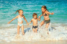 Top 4 family beaches in Europe chosen by James Villa Holidays, where to take your family for the perfect holiday.