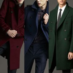 Don't Brood get in the mood with great Coat color!  When in doubt try Burberry! Http://www.seancoyle.com