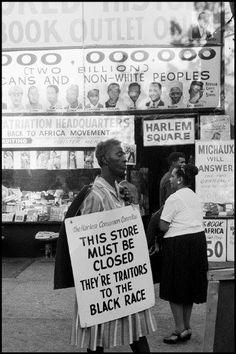 Leonard Freed, Harlem, New York City, USA, 1963. © Leonard Freed/Magnum Photos