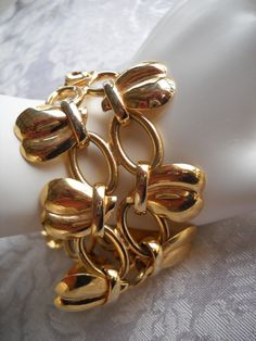 Vintage Mod Retro Wide Chunky Womens Heart by vintagefinds61, $18.00