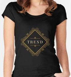 T-Shirt Trend Women's Fitted Scoop T-Shirt